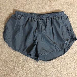 Grey Lined Nike Shorts